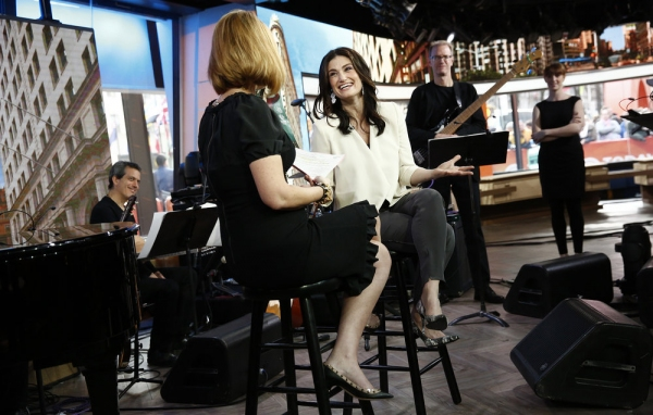 Photo Flash: Idina Menzel Performs from IF/THEN on 'Today'