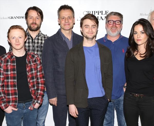 Conor MacNeill, Padraic Delaney, Director Michael Grandage, Daniel Radcliffe, Pat Sho Photo