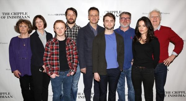 Gillian Hanna, Ingrid Craigie, Conor MacNeill, Padraic Delaney, Director Michael Gran Photo