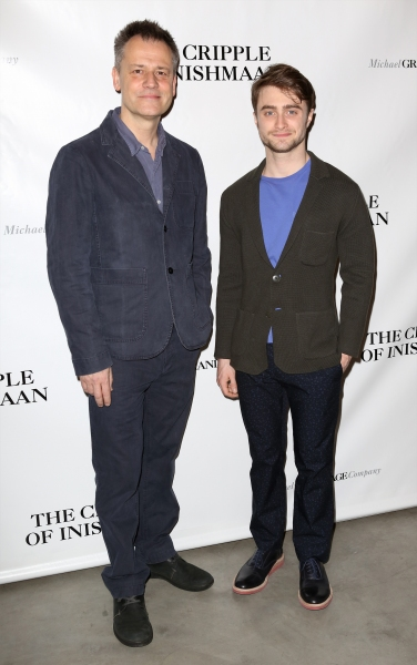 Director Michael Grandage and Daniel Radcliffe
