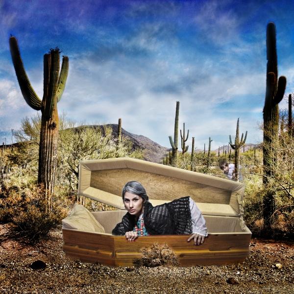 Photo Flash: Sneak Peek at Blanca Aguero in Aurora Theatre's MARIELA IN THE DESERT