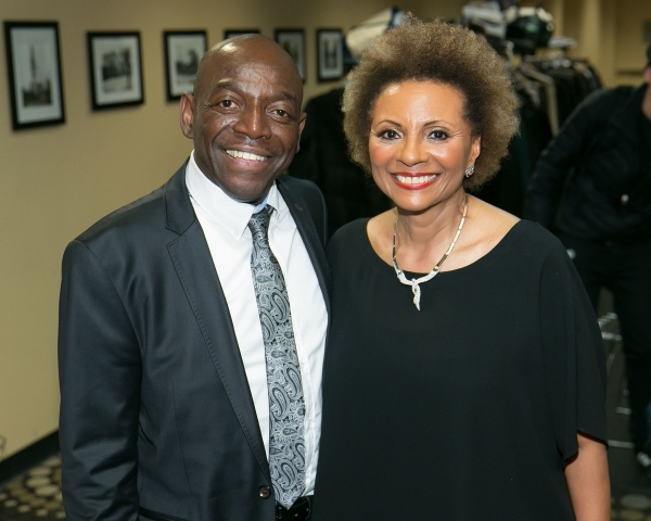 Photo Flash: BWW's Richard Ridge, Broadway's Natalie Toro, Leslie Uggams and More at Amas Musical Theatre's 2014 Gala
