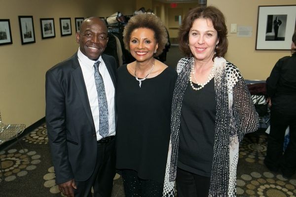 Hinton Battle, Leslie Uggams & Donna Trinkoff