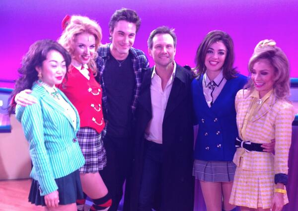 Christian Slater Attends HEATHERS: THE MUSICAL & Shares ...