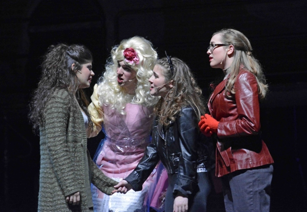 Mimi (Ava Gallo), Angel (Matt Buckwald), Maureen (Emily Ruchalski) and Joanne (Casey  Photo