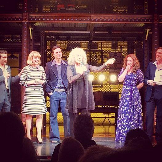 Twitter Watch: Carole King Visits BEAUTIFUL on Broadway!