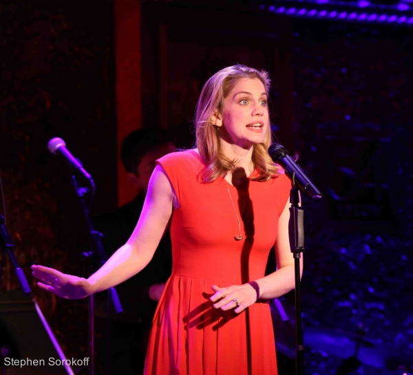 Photo Coverage: Anna Chlumsky, Randy Graff and Cady Huffman Bring THE ACT to 54 Below