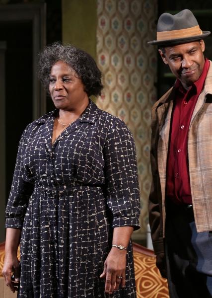 Photo Coverage: Denzel Washington & A RAISIN IN THE SUN Cast Take Opening Night Bows!