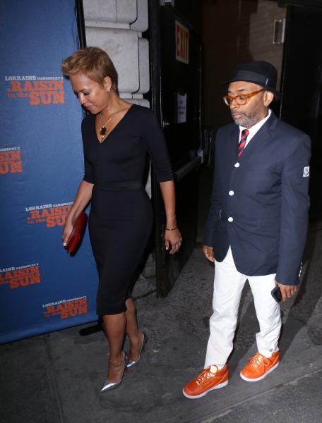 Tonya Lee and Spike Lee