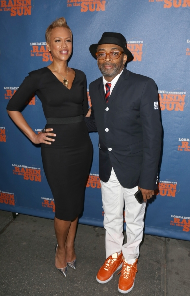 Tonya Lee and Spike Lee