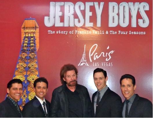 Ronnie Dunn & JERSEY BOYS Cast