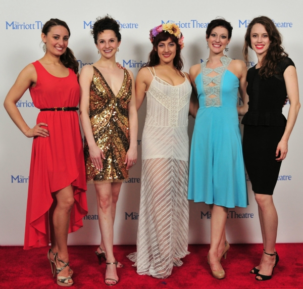 Shanna Heverly, Amanda Tanguay, Adrienne Storrs, Melissa Zaremba, Ellen Green