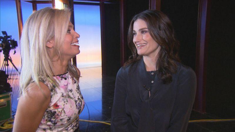Idina Menzel Talks Travolta Flub, Marriage & More on CBS SUNDAY MORNING, 4/6