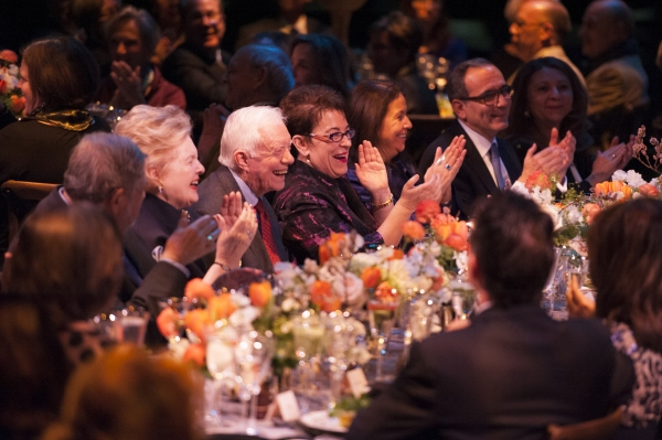 Photo Flash: President Jimmy Carter and More Attend CAMP DAVID's Opening Night at Arena Stage