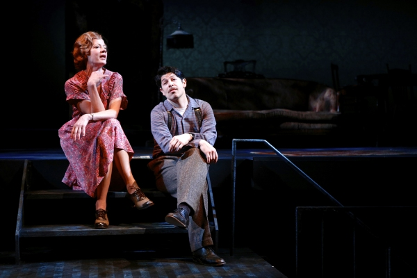 Elizabeth Hess (as Amanda) and Joseph Midyett (as Tom)