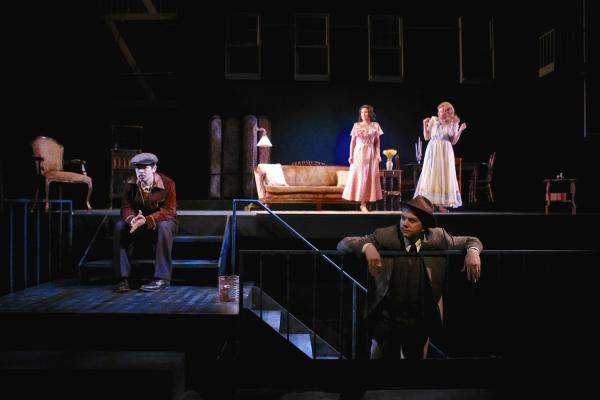 Joseph Midyett (as Tom), Adriana Gaviria (as Laura), Michael Kirby (as The Gentleman  Photo