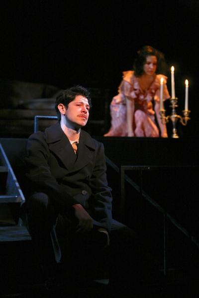 Joseph Midyett (as Tom) and Adriana Gaviria (as Laura) Photo