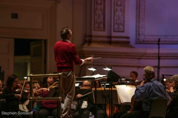 Photo Coverage: The New York Pops LIGHTS, CAMERA, ACTION: A NIGHT IN HOLLYWOOD Rehearsal Photos
