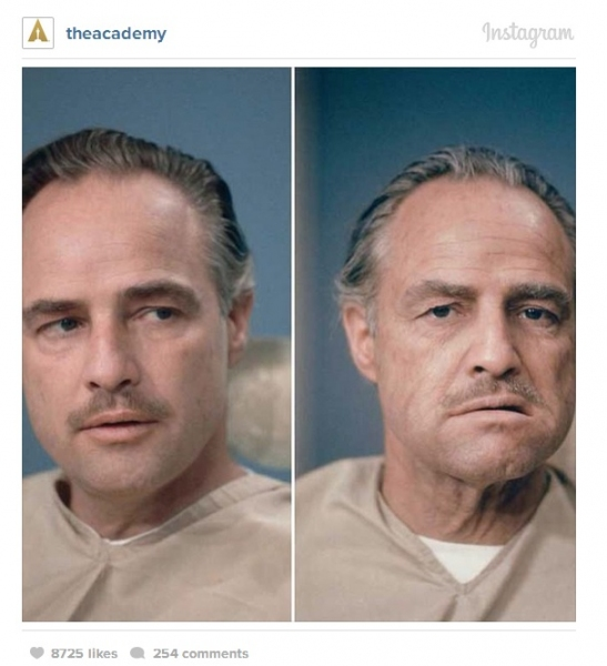 How Did They Transform Marlon Brando in THE GODFATHER?  Take a Look!