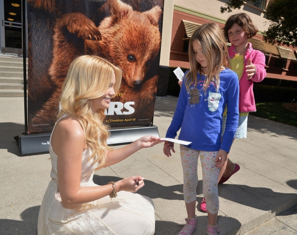 Photo Flash: Olivia Holt Hosts Special Screening of Disneynature's BEARS