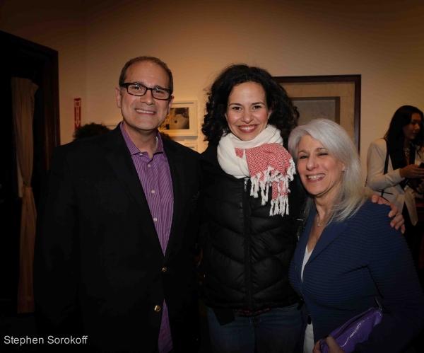 Dan Shaheen, Mandy Gonzalez, Jamie deRoy