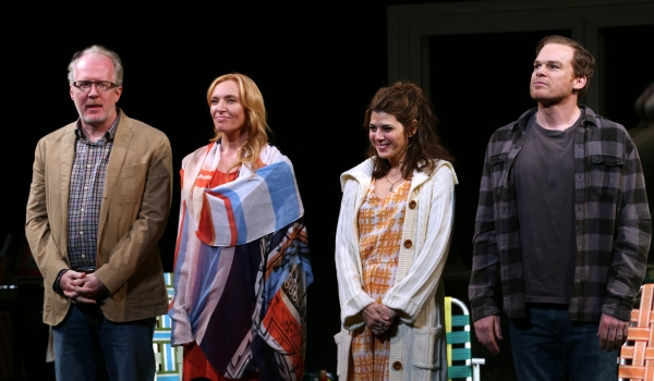 Tracy Letts, Toni Collette, Marisa Tomei and Michael C. Hall