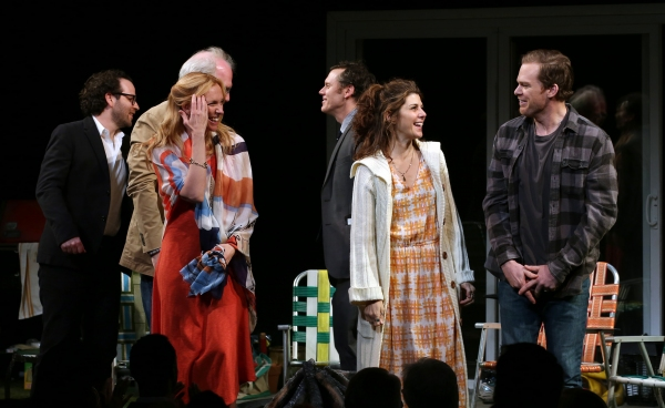 Photo Coverage: THE REALISTIC JONESES Cast Takes Opening Night Bows!
