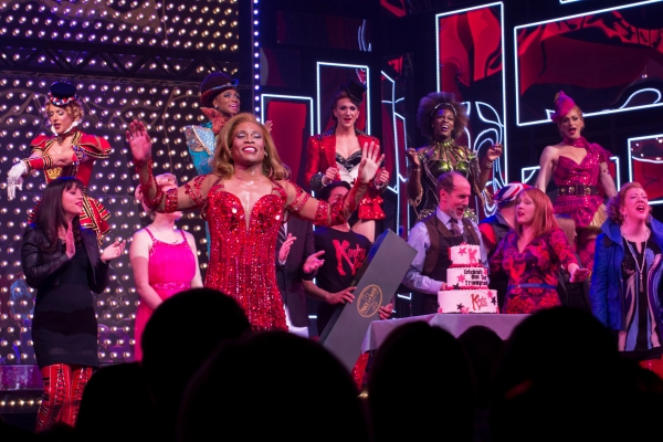 Photo Coverage: KINKY BOOTS Celebrates One Year at the Al Hirschfeld Theatre!