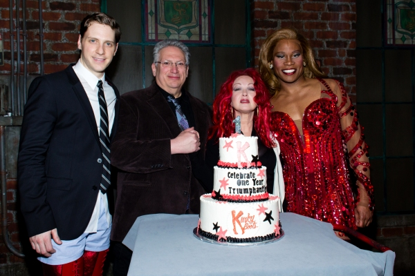 Andy Kelso, Harvey Fierstein, Cyndi Lauper, Billy Porter