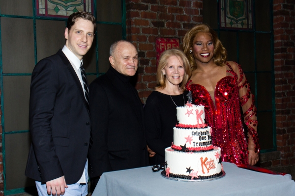 Andy Kelso, Ray Kelly, Daryl Roth, Billy Porter