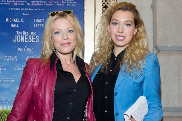 Sherie Rene Scott and guest