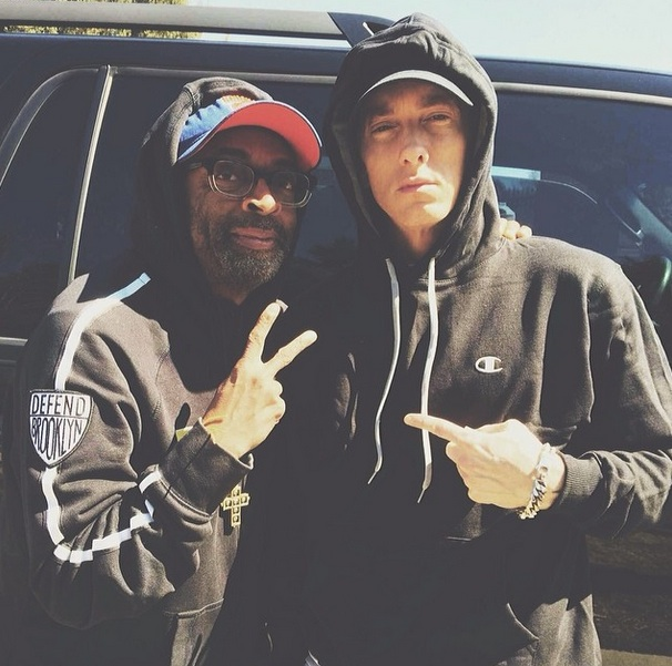 Spike Lee & Eminem to Team Up on 'Headlights' Video
