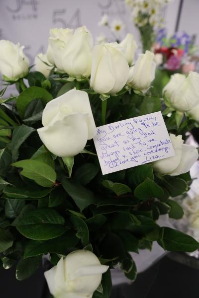 Flowers from Liza Minnelli