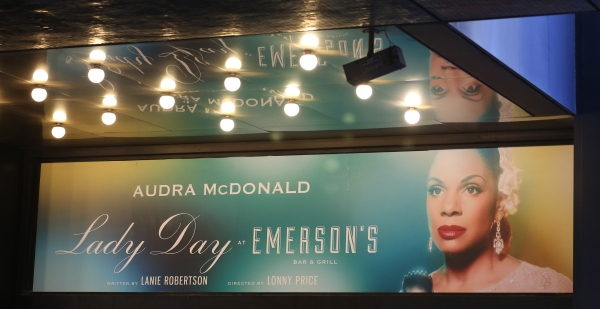 Up on the Marquee: LADY DAY AT EMERSON'S BAR & GRILL