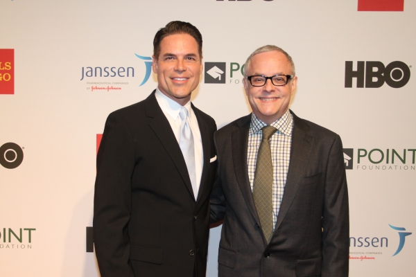 Jorge Valencia and Dr. Neal Baer