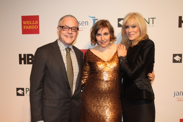 Dr. Neal Baer, Lena Dunham and Judith Light