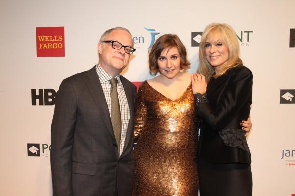 Dr. Neal Baer, Lena Dunham and Judith Light