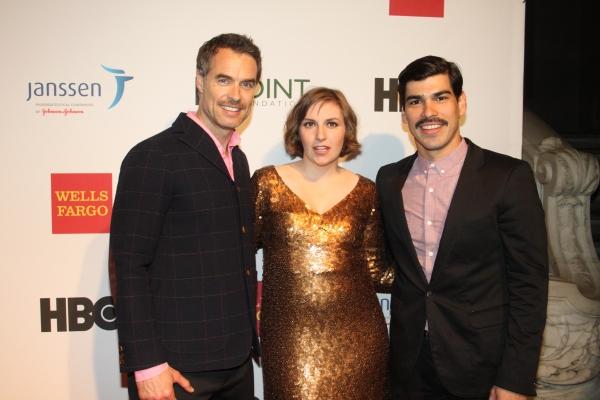 Murray Bartlett, Lena Dunham and Raul Castillo
