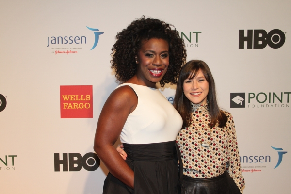 Uzo Aduba and Yael Stone