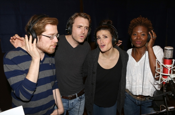 Photo Coverage: Inside the Recording Studio with the Cast of IF/THEN!