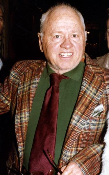 Mickey Rooney.in New York City..September 1979. Photo
