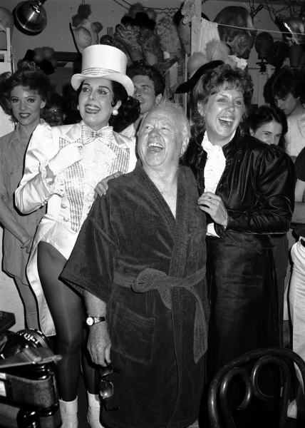 Mickey Rooney at The Sands Expo in Las Vegas in January of 1996.