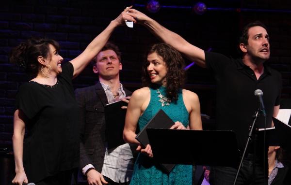 Lesli Margherita,  Leo Ash Evans, Sarah Girard and Jeremiah Ginn