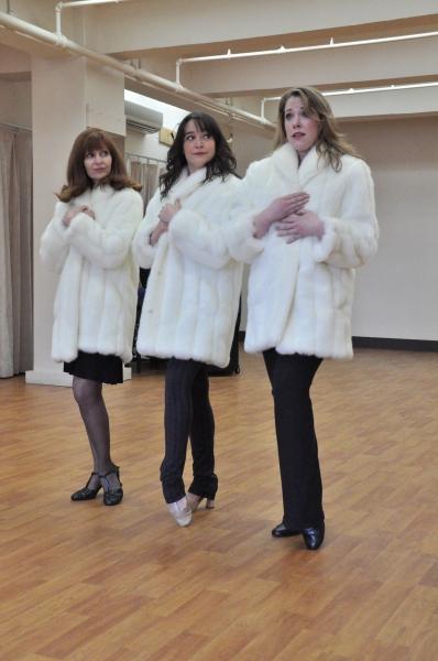 Photo Coverage: York Theatre Company's INVENTING MARY MARTIN Cast Meets the Press