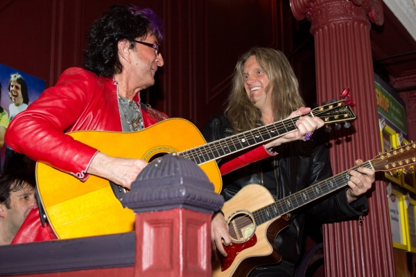 Photo Coverage: ROCK OF AGES Celebrates 5 Years on Broadway with Survivor's Jim Peterik