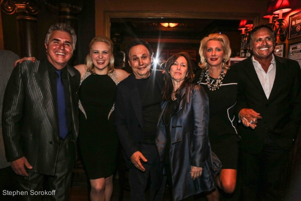 Steve Tyrell, Haley Swindal, Billy Crystal, Jennifer Steinbrenner Swindal, Hank Swindal