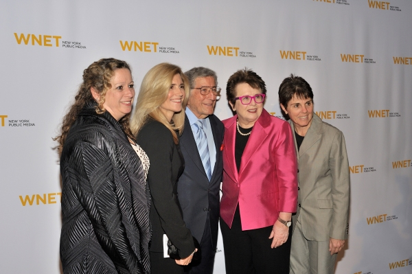 Abby Disney, Susan Benedetto, Tony Bennett, Billie Jean King & Ilana Kloss