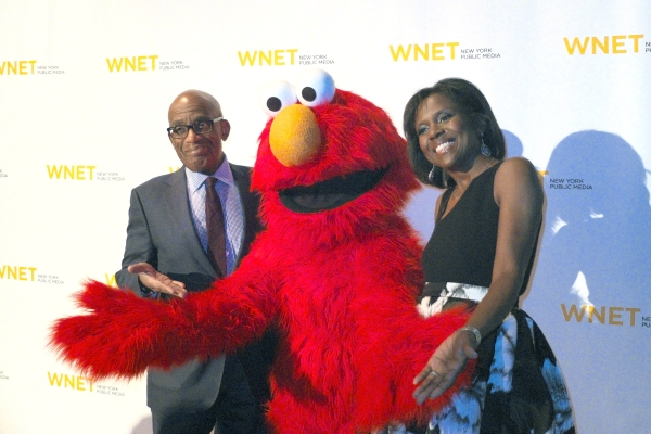 Al Roker, Elmo & Deborah Roberts