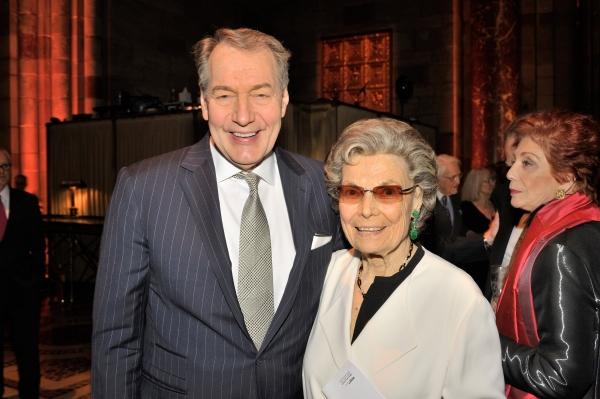 Charlie Rose & Rosalind P. Walter