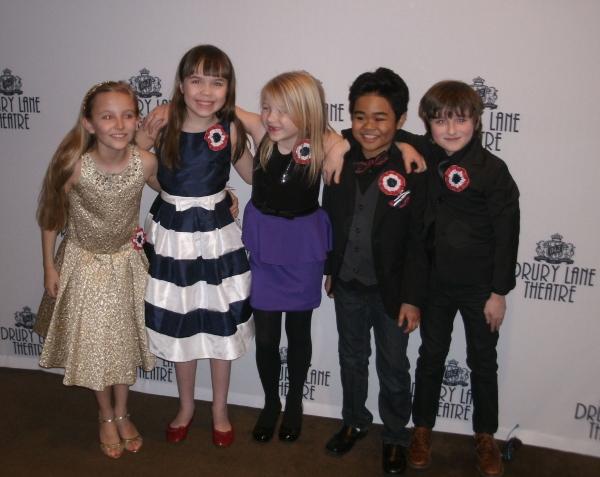 Sage Harper, Peyton Shaffer, Ava Morse, Matthew Uzarraga, Charlie Babbo Photo